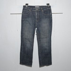 Chico's facet womens jeans size 1.5 S 114